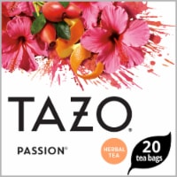 Tazo Passion Herbal Tea Bags 20 Count