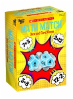 University Games Scholastic Math Match Dice and Card Game - 1 ct