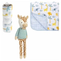 Zoo blanket/plush set