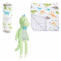 Dinosaur Blanket/Plush Set