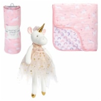 Unicorn Blanket/Plush Set