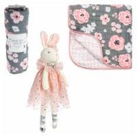Bunny Blanket/Plush Set