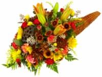 Cornucopia Flower Arrangement
