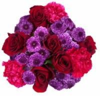 Summer Sizzle Rose Bouquet