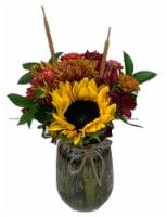 The Queen's Flowers Harvest Arrangement