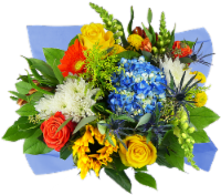 Concerto Sunny and Chic Mixed Bouquet