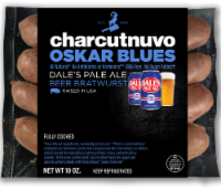 Dale's Pale Ale Charcutnuvo Oskar Blues Beer Bratwurst
