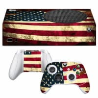 VWAQ American Flag Xbox One S Skins For Console and Controllers  - XSRSS12 - 1