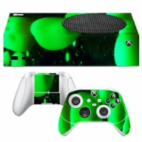 VWAQ Green Lava Lamp Xbox One S Skins Console and Controllers - XSRSS10 - 1