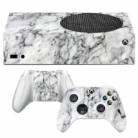 VWAQ White Marble Xbox One S Skin Console and Controllers - XSRSS7 - 1