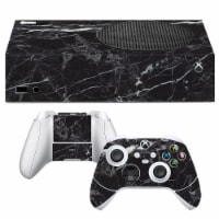 VWAQ Black Marble Xbox One S Skins For Console and Controllers - XSRSS6 - 1