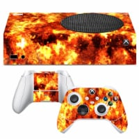 VWAQ Fire Xbox One S Skins For Console and Controllers - XSRSS3 - 1