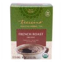 Teeccino French Roast HerbalTee Bags - 10 ct