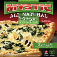 Mystic All Natural Spinach Pizza