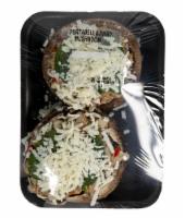 Crazy Fresh Stuffed Traditional Portabella Mushrooms