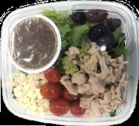 Crazy Fresh Greek Style Salad with Chicken