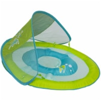 SwimWays 6038626 Spring Float Sun Canopy Baby Swim Pool Float, Colors May Vary - 1 Unit