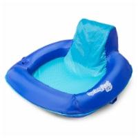 Swimways Blue Fabric/Mesh Inflatable Mattress Floating Pool Mat