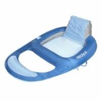 "Swimline Giant Inflatable Mega 76"" Ride On Swan Swimming Pool Water Float Raft"