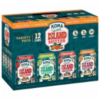 Kona Brewing Co. Spiked Island Seltzer Variety Pack 12 Cans