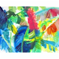 Betsy Drake DM1113G 30 x 50 in. Abstract Palms Door Mat