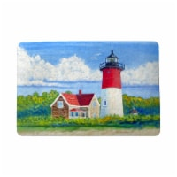 Betsy Drake DM1120 18 x 26 in. Nauset Lighthouse, Cape Cod, MA Door Mat