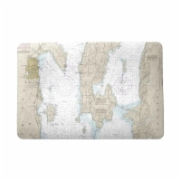 Betsy Drake DM14782 18 x 26 in. Cumberland Head to Four Brothers Islands, VT Nautical Map Doo
