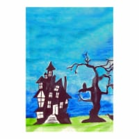 Betsy Drake FL1041G 28 x 40 in. Haunted House Flag
