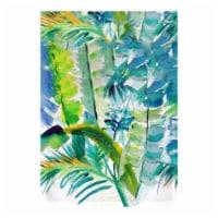 Betsy Drake FL1116 12.5 x 18 in. Jungle Greens Flag