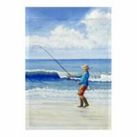 Betsy Drake FL1117G 28 x 40 in. Surf Fishing Flag