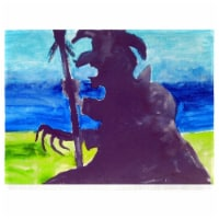 Betsy Drake PM1040 Wicked Witch Place Mat - Set of 4