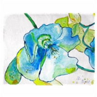 Betsy Drake PM1115 Blue Hibiscus Place Mat - Set of 4