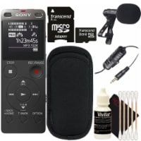 Sony Icd-ux560 Digital Voice Recorder With Built-in Usb With Cleaning Accessory Kit