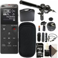Sony Icd-ux560 Digital Voice Recorder With Built-in Usb With Ultimate 32gb Accessory Kit