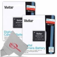 Two Vivitar Viv-cb-11lh Rechargeable Replacement Battery For Canon Nb-11lh - 1