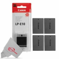 4x Canon Genuine Lp E10 Rechargeable Battery For Canon T7 T6 T5 T3 T100 2000d - 1