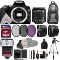 Canon Eos 250d / Rebel Sl3 24.1mp 4k Digital Slr Camera + 64gb Accessory Kit