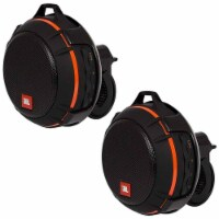 Two Jbl Wind Bike Portable Bluetooth Speaker Withfm Radio Supports A Micro Sd Card - Black - 1