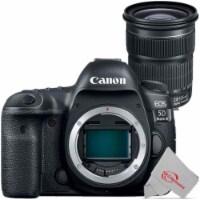Canon Eos 5d Mark Iv Full Frame Digital Slr Camera + Canon Ef 24-105mm F/3.5-5.6 Is Stm Lens - 1