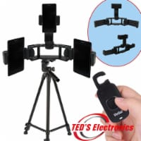 Phone Holder For 3+ Tripod +remote - 1