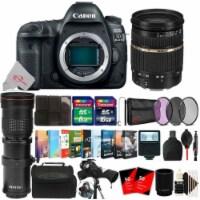 Canon Eos 5d Mark Iv Digital Slr Camera + Tamron Sp 28-75mm, 420-800mm Bundle - 1