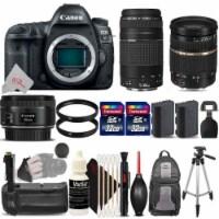 Canon Eos 5d Mark Iv Digital Slr Camera + Tamron Sp 28-75mm Accessory Bundle - 1