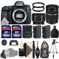 Canon Eos 6d Mark Ii Digital Slr Camera + 50mm 1.8, Tamron Sp 28-75mm Bundle - 1