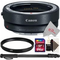 Canon Mount Configurable Control Ring Adapter Ef-eos R + Uv Filter Top Kit - 1