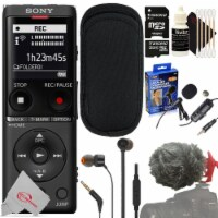 Sony Ux570 Digital Voice Recorder + Professional Microphone Accessory Kit