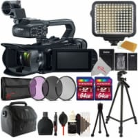 Canon Xa11 Compact Full Hd Camcorder-pal + Filter Kit + Accessory Kit