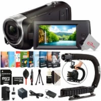 Sony Hdr-cx405 Hd Handycam Camcorder With 32gb Top Accessory Kit - 1