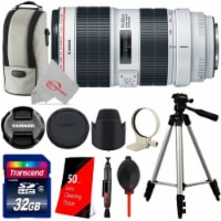 Canon Ef 70-200mm F/2.8l Is Iii Usm Telephoto Zoom Lens With 32gb Accessory Kit + Tripod - 1