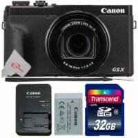 Canon Powershot G5 X Mark Ii 20.2mp Digital Camera With Memory Card - 1