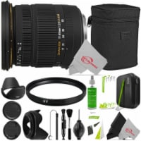 Sigma 17-50mm F/2.8 Ex Dc Os Hsm Zoom Lens For Nikon + Cleaning Accessory Bundle - 1